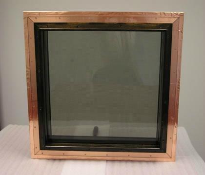 视窗观察窗屏蔽玻璃防电磁辐射抗干扰夹层玻璃镀膜玻璃