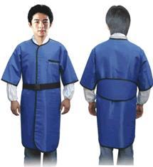 新型柔软材料连体短袖射线防护服